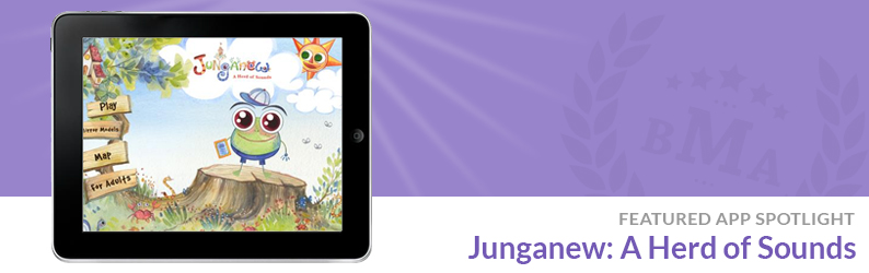 "App Spotlight: Junganew: A Herd of Sounds ""S"""