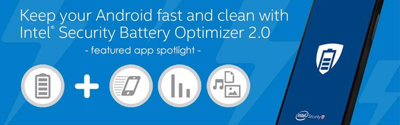 App Spotlight: Intel® Security Battery Optimizer