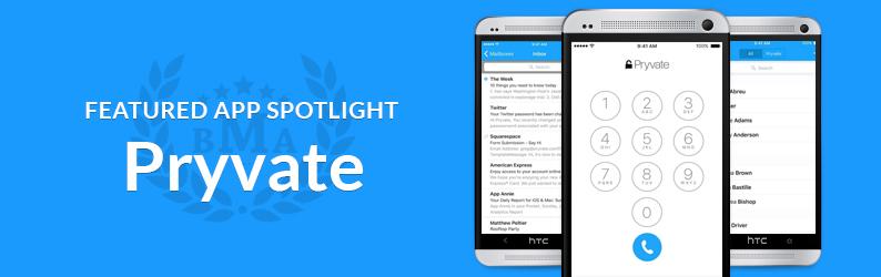 App Spotlight: Pryvate