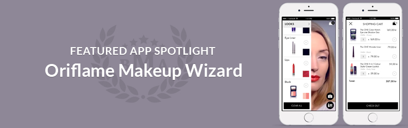 App Spotlight: Oriflame Makeup Wizard