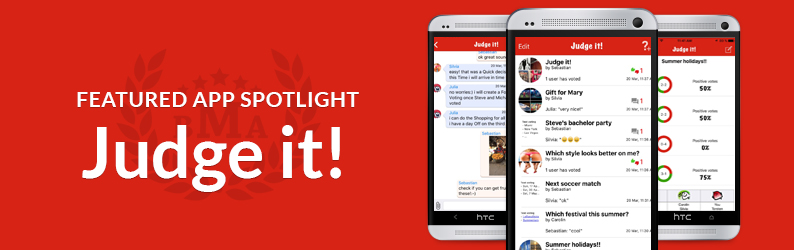 App Spotlight: Judge it!