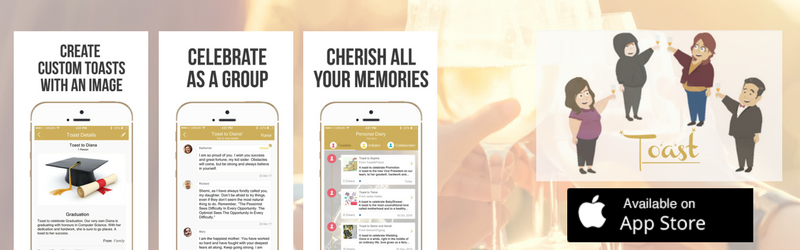 App Spotlight: Raise A Toast