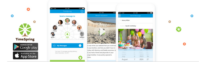 App Spotlight: TimeSpring: Share Tomorrow