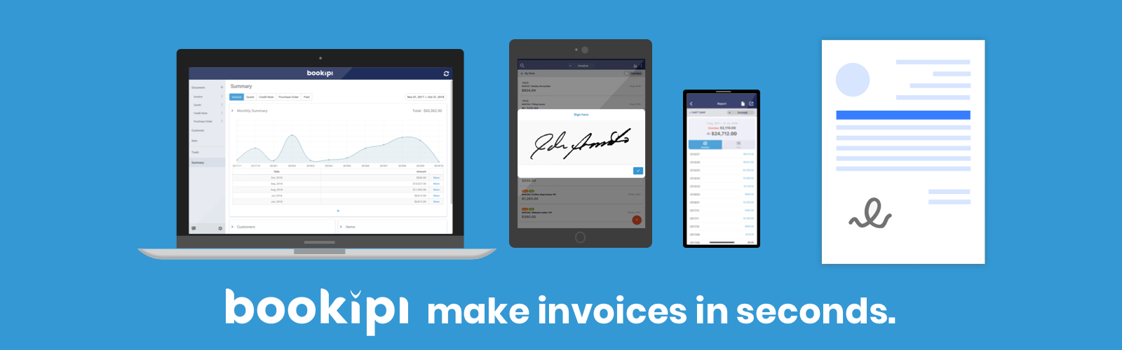 App Spotlight: Bookipi - Invoice Maker