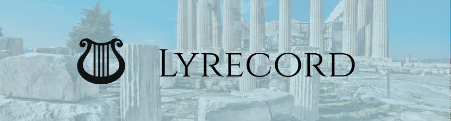 App Spotlight: Lyrecord