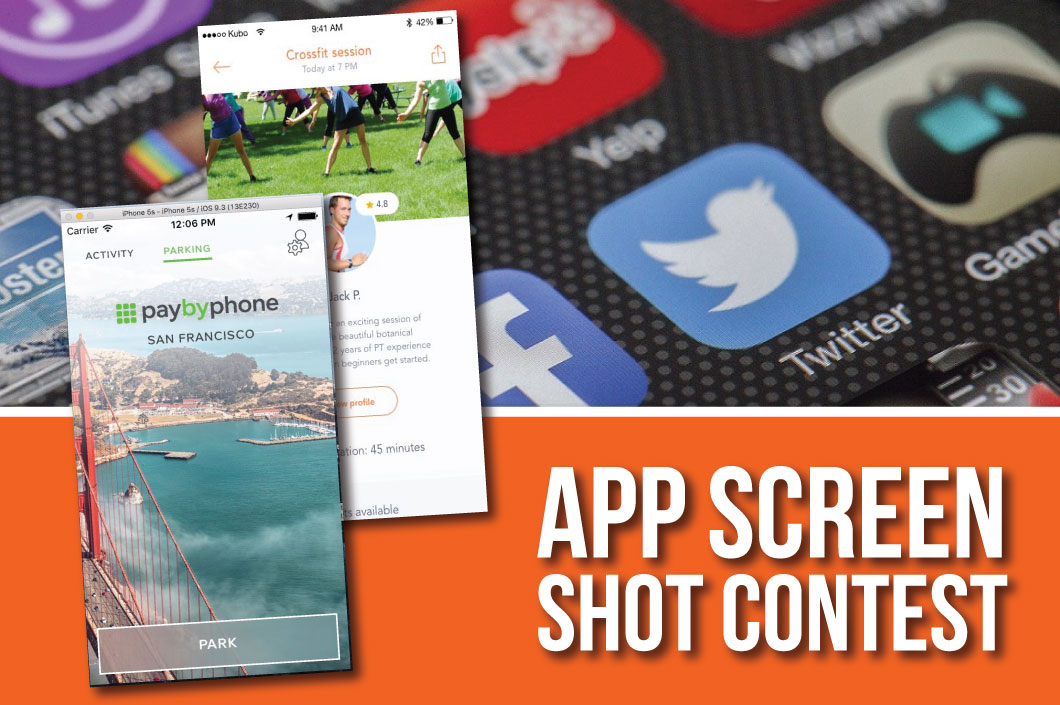 Award Contest: Best App Screen Shot