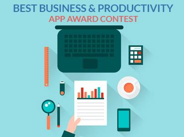 App Award Contest: Best Business & Productivity App of 2017