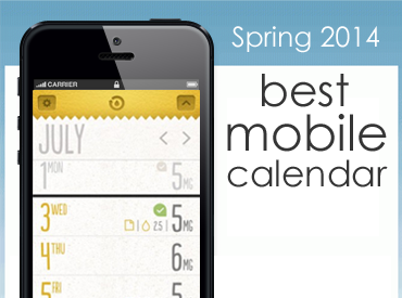 App Award Contest: Best Mobile Calendar