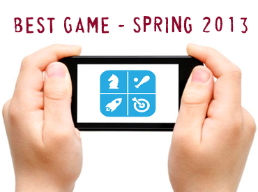 App Award Contest: Best Game - Spring 2013