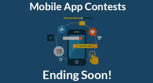 Mobile app award contests are ending!