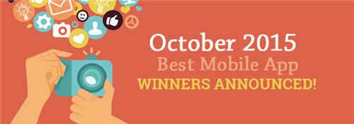 October 2015 Best App Awards Winners Announced