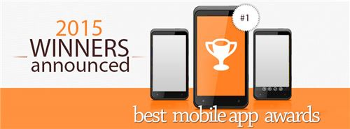 2015 Overall Best Mobile App Award Winners Announced