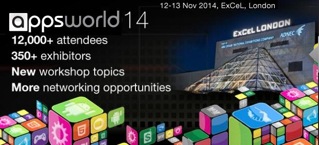 Appsworld Developer Conference - Nov 12-14 London